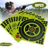 10pcs Shooting Targets Paper Reactive Splatter Target Sticker 20x20cm(8x8'') @