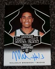 2016-17 Panini Totally Certified Rookie Roll Call Malcolm Brogdon Auto (12)