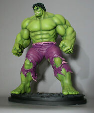 Signed Sketched BOWEN DESIGNS HULK  SAVAGE STATUE EXCLUSIVE MARVEL Red AVENGERS.
