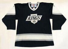 Vintage CCM Maska NHL Los Angeles Kings Hockey Jersey Man M Black Canada Sewn