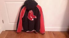 Boston Red Sox Genuine Merchandise Mens Large Hooded Quilt Lined New Without Tag