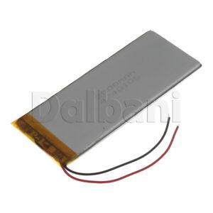New 3.7V 2000mAh Internal Li-ion Polymer Built-in Battery 104x41x3mm 29-16-0954