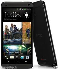 HTC One M7 PN07120 AT&T UNLOCKED LTE Android 4.1 32GB GSM Smartphone Black Good
