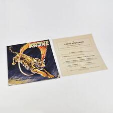 Zirkus Krone Programm - Saison 1951 - altes Programmheft - Heft - original
