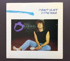 "ROBERT PLANT - In The Mood 7"" Vinyl Record Single 45 VG Aus Press W/ Tour Dates"