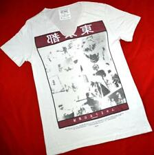 """ALL SAINTS """"LIMITED TONIC SCOOP"""" GRAPHIC T-SHIRT TEE TOP - SIZE S SMALL - GREY"""