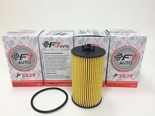 (1SET OF4 PCS) F5839 OIL FILTER MADE IN KOREA (Fits:BUICK CHEVROLET PONTIAC)!!
