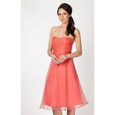 Debenhams Women's Polyester Sleeveless Dresses Midi