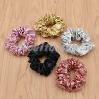 Women Elastic Sequined Shiny Ties Bands Scrunchie Headwear Girl Hair Accessories