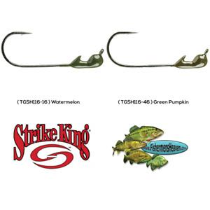 Strike King Jig 1/16oz Any Color 3pk TGSH116 Gamakatsu Tour Grade Jighead Lures