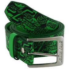 SANTA CRUZ OGSC Skateboard Belt - Green  -L/XL ADULT