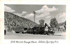 RPPC,Idaho Springs,CO.Old Narrow Gauge Rail Road,Colorado & Southern R.R.c.1945>
