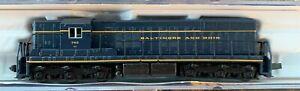 Life-Like N Scale POWERED Baltimore & Ohio B&O SD7 Locomotive #7708 NEW