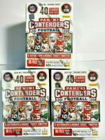 2020 Panini Contenders NFL Football Blaster SEALED LOT OF (3) Burrow Tua Herbert