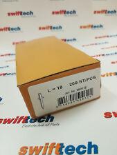 200x Einschlagnagel Fixpin 18mm ø 4,2mm