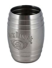 Jack Daniel's Old No.7 Whiskey Medium Barrel Shot Glass Swing Cartouche Logo