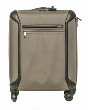 "Tumi 18"" Unisex 4 Wheeled Beige Black Carry On 1096"
