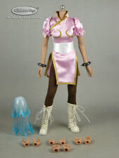 1/6 Phicen, Super Duck Sexy Female Street Fighter Chun Li Pink Costume Set