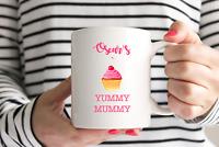 Fabulous Yummy Mummy Mug/Cup -Christmas- Mothers Day - New Baby Gift - Cupcake
