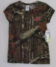 NWTs Girl's Mossy Oak YXL Short Sleeve Camo Shirt ~ Excellent Condition!