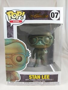 Icons Funko Pop - Stan Lee - No. 07 - Free Protector