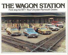 1977 Chrysler-Plymouth NOS Station Wagon Brochure