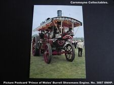 Picture Postcard 'Prince of Wales' Burrell Showmans Engine.No.3887 8 NHP.AH9428.