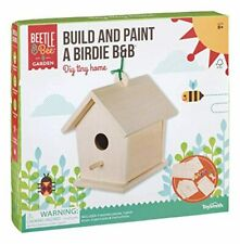 Toysmith Beetle & Bee Build & Paint A Birdie B&B