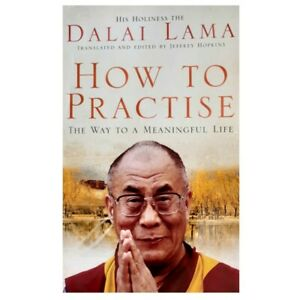 How To Practise by Dalai Lama XIV (Paperback Book) Buddhism, Spirtuality
