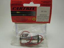 Motor Cartrix 1174 Caja Larga TX2 con adaptador para coches Scalextric 1/32