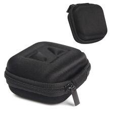 Earphone Headphone Earbud Carrying Hard Case Storage Bag Zipper Pouch Black