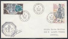 "Antarctic""AMSTERDAM"" TAAF 1980,Gendamerie + Signature ,look Scan !! 18.5-29"