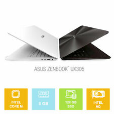 """13.3"""" Asus ZenBook UX305FA, Intel M up to 2.0GHz, 128GB SSD, 8GB, IPS Ultrabook"""