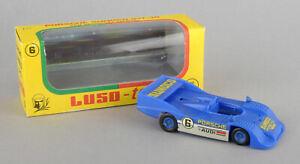 Vintage Luso-Toys (Portugal) Plastic Porsche Sunoco 917-30 Ref.6 *BOXED*