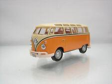 Diecast Schuco Volkswagen Transporter Bus T1 1/60? Orange Good Condition