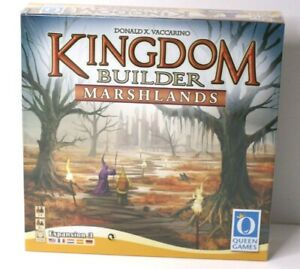 Kingdom Builder Marshlands Expansion 3 Queen Games 2 to 4 Players New in Box