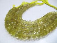 "100 Percent Real Lemon Quartz Beads , Size 8mm , Strand of 9"" Long ,Free Shiping"
