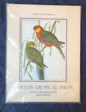 The Ariel Press John Gould's Tropical Birds 18 Print Collection. New In Plastic