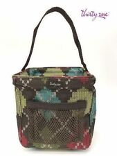 Thirty one Little carry-all Caddy utility mini tote bag 31 gift Windsor Argyle d