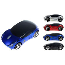 2.4G 1600DPI Car Shape Optical Mice Wireless Mouse USB Receiver For Laptop PC