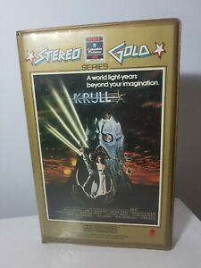 Krull VHS. Clamshell Excellent Condition.