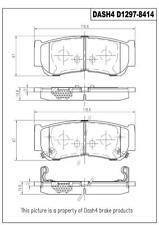Disc Brake Pad Set-Ceramic Pads Rear Pronto PCD1297 fits 07-09 Hyundai Santa Fe