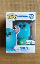 Funko POP Flocked Sulley 385 Monsters Inc TRU Toys R Us Exclusive +pop protector
