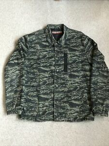 Worland Showerproof Camouflage Camo Jacket Size Medium
