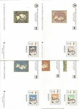 Sobre Entero Postal Edifil # 60/64 XXXII Feria Nacional del Sello Madrid 2000