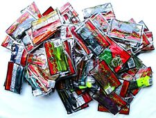 (100) Unopened Packs Wave Plastics Crawdudes Snakes Lizards Tubes ++++ Brand New