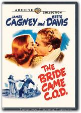 The Bride Came C.O.D. DVD New James Cagney Bette Davis Stuart Erwin