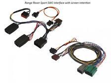 Range rover sport 05-09 volant adaptateur/écran retention/amp bypass conduit
