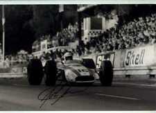 John Surtees Honda RA301 French Grand Prix 1968 Signed Photograph