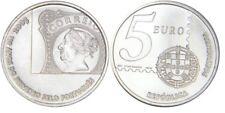 Portugal 5 Euro Gedenkmünze 2003 150 Jahre Briefmarke Silver UNC